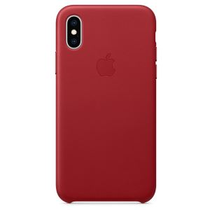 APPLE MRWK2ZM/A IPHONE XS DERİ KILIF- KIRMIZI