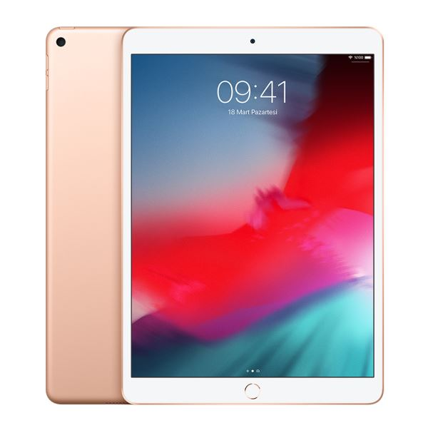 Ipad Air-64GB WIFI-Gold-10.5''Retina-Bluetooth-10Saate KadarPil Ömrü456Gr