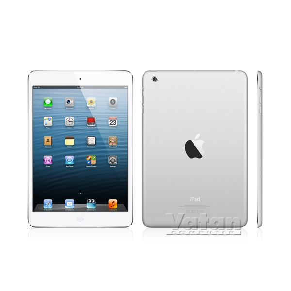 Ipad Mini Ret-128GB WIFI GÜMÜŞ-7.9'' Led-Bluetooth10 Saate Kadar Pil Ömrü-331 Gr