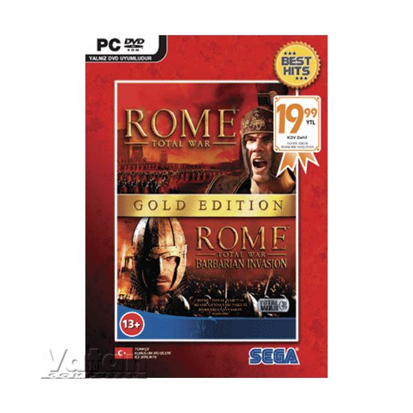PC ROME TOTAL WAR GOLD