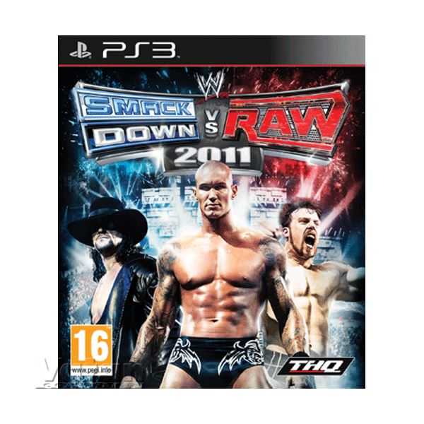 PS3 WWE SMACKDOWN VS. RAW 2011