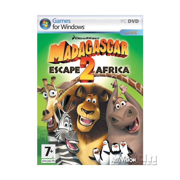 PC MADAGASCAR 2 ESCAPE2 AFRICA