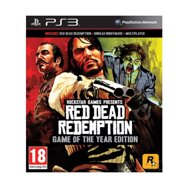 PS3 RED DEAD REDEMPTION G.O.T.Y.