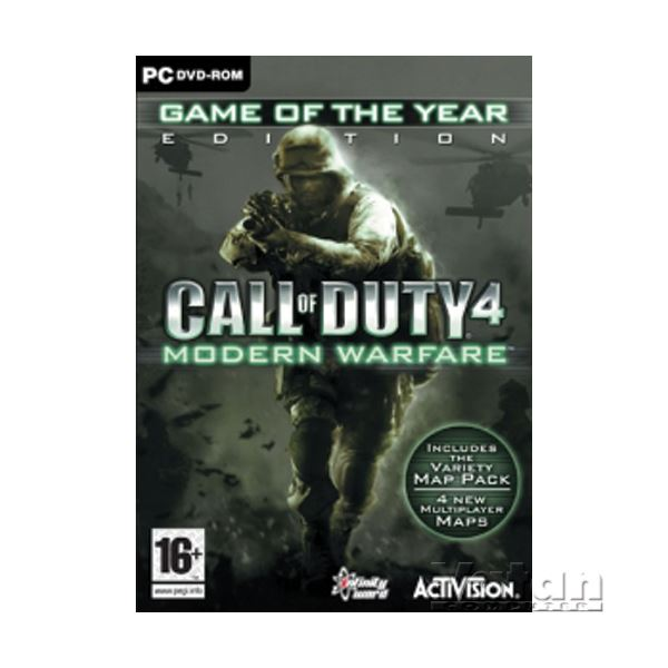 PC CALL OF DUTY 4 MODERN WARFARE GOTY