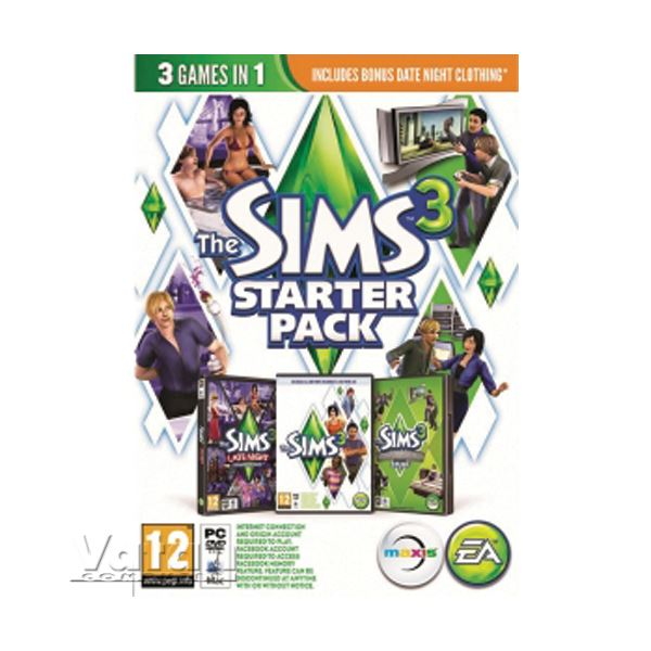 PC THE SIMS 3 STARTER PACK