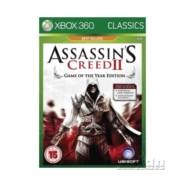 XBOX ASSASSINS CREED II