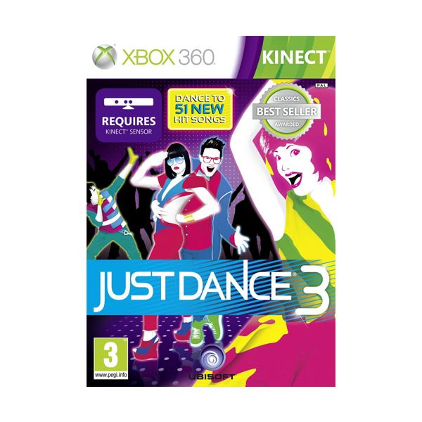 XBOX JUST DANCE 3