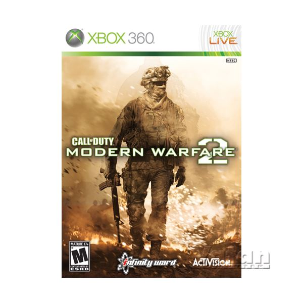 XBOX CALL OF DUTY MODERN WARFARE 2
