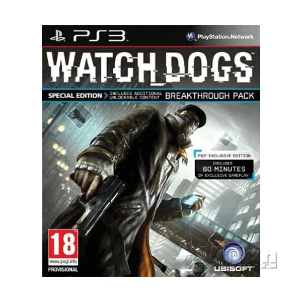 PS3 WATCH DOGS SPECIAL ED.