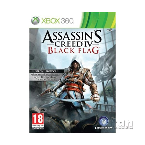Xbox ASSASSINS CREED IV BLACK FLAG SPECIAL ED.