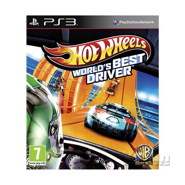PS3 HOT WHEELS WORLD'S BEST DRIVER