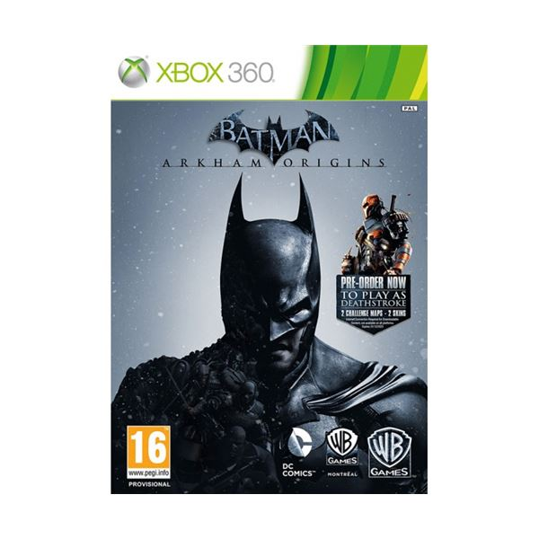 Xbox  BATMAN ARKHAM ORIGINS LIMITED EDITION