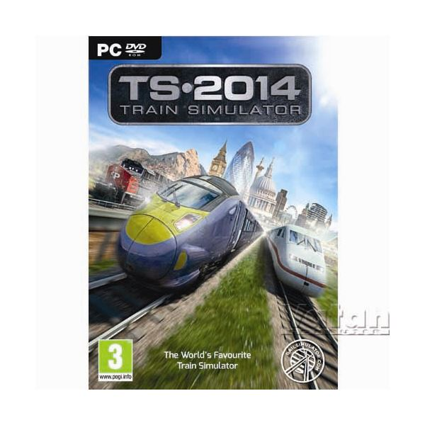 PC TRAIN SIM 2014