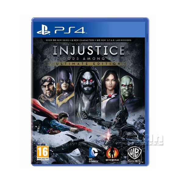 PS4 INJUSTICE GODS AMONG US GOTY