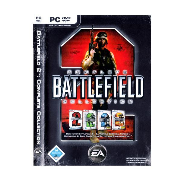 PC BATTLEFIELD 2 COMPLETE COLLECTION