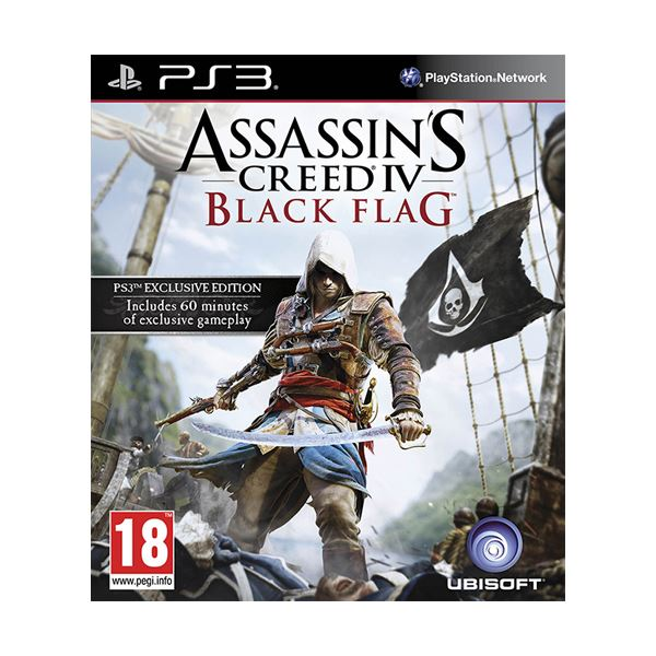 PS3 ASSASSINS CREED BLACK FLAG STD