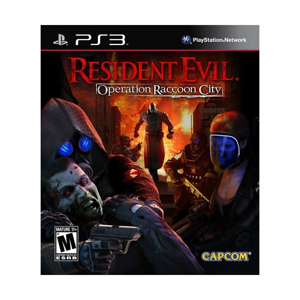 PS3 RESIDENT EVIL OPERATION RACCON CITY