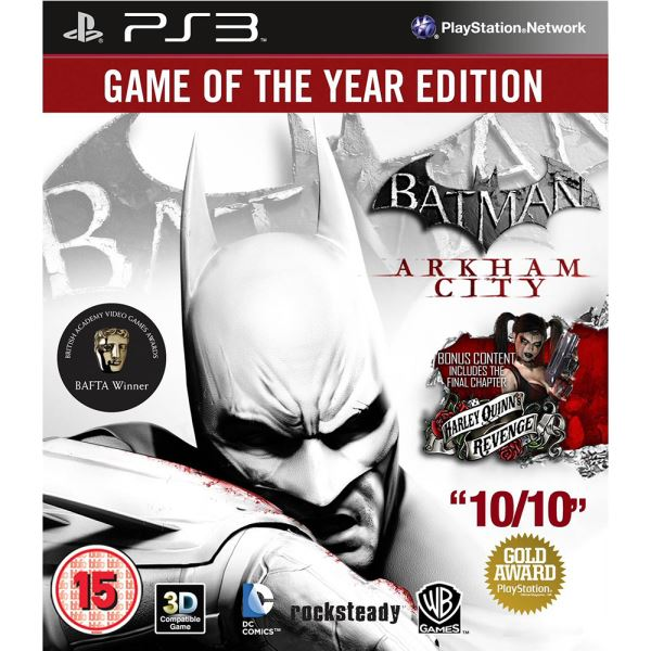 PS3 BATMAN ARKHAM CITY GOTY