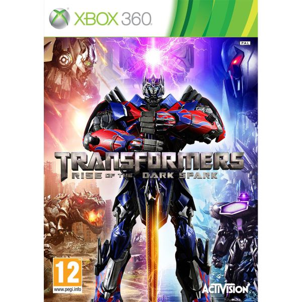 X360 TRANSFORMERS RISE OF THE DARK SPARK