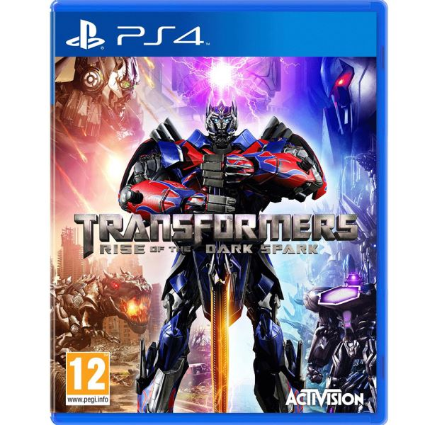 PS4 TRASFORMERS RISE OF THE DARK SPARK