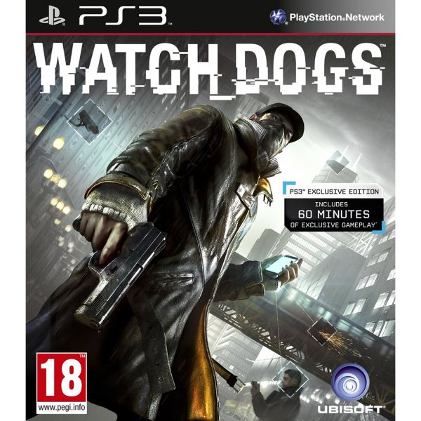 PS3 WATCH DOGS STD