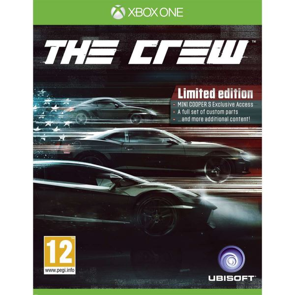 XBOX ONE THE CREW LIMITED ED.