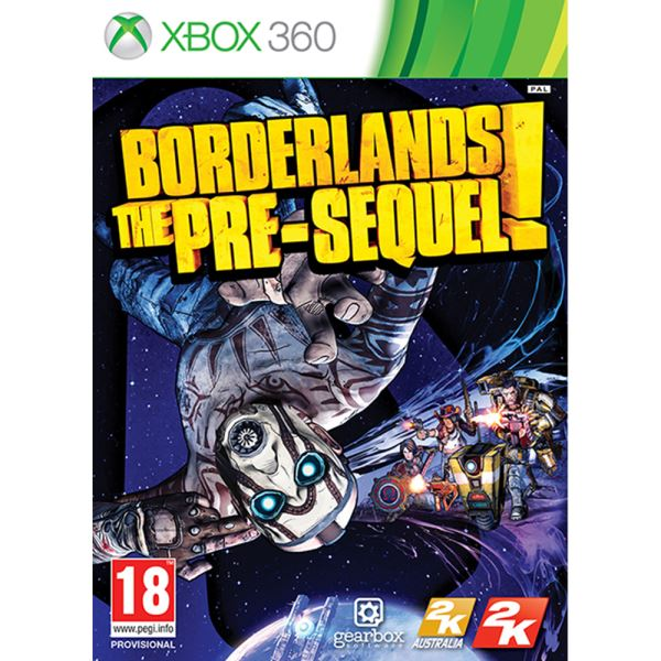 Xbox 360 BORDERLANDS THE PRESEQUEL