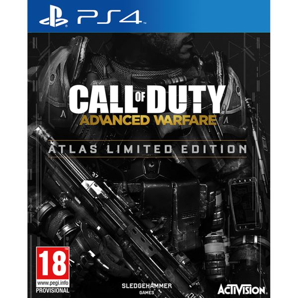 PS4 CALL OF DUTY ADVANCED WARFARE ATLAS LIMITED ED