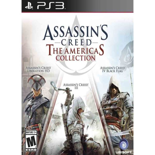 PS3 ASSASSINS CREED AMERICAN SAGA