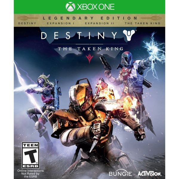 XBOX ONE DESTINY THE TAKEN KING LEGENDARY EDITION