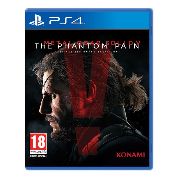 PS4 METAL GEAR SOLID V THE PHANTOM PAIN STD