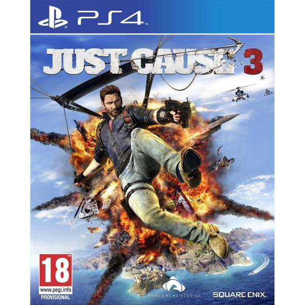PS4 JUST CAUSE 3:MEDICI MAP LIMITED EDT.