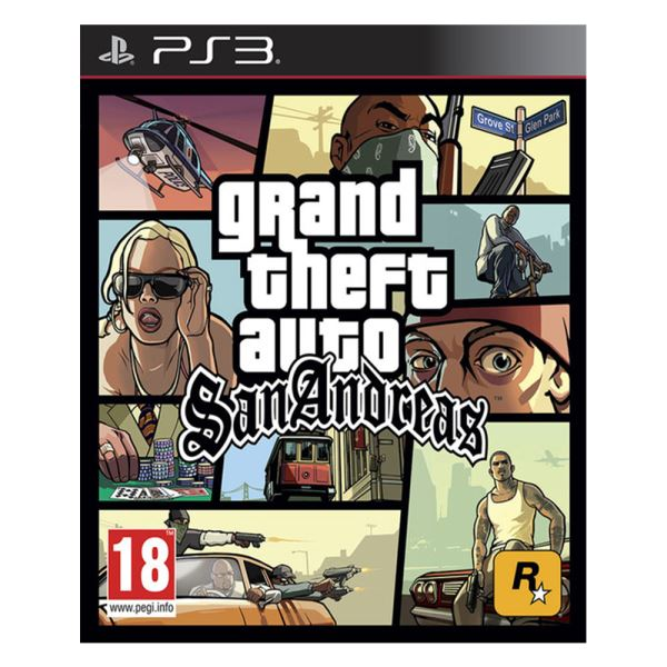 PS3 GTA:SAN ANDREAS