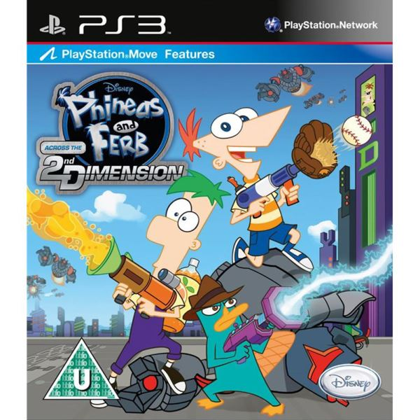 PS3 DISNEY PHINEAS AND FERB