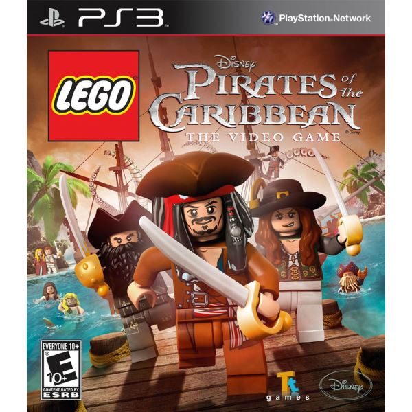 PS3 DISNEY LEGO PIRATES OF THE CARIBBEAN