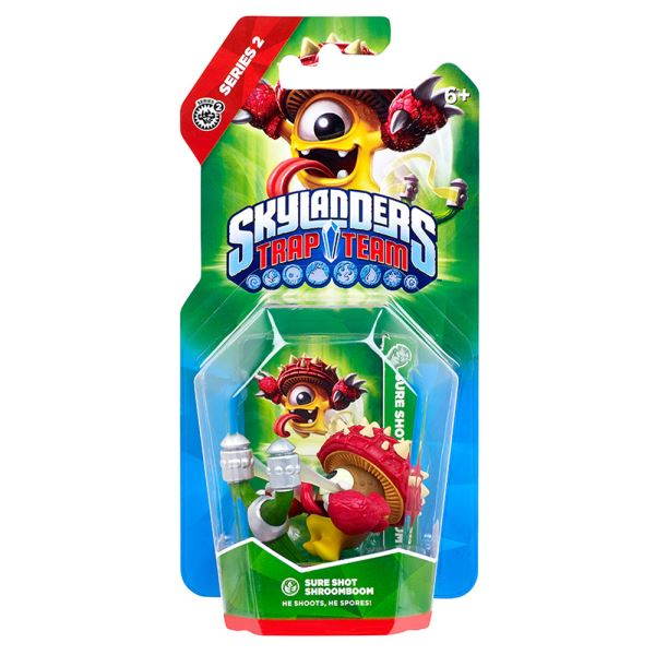 SKYLANDERS TRAP TEAM SINGLE SHROOMBOOM