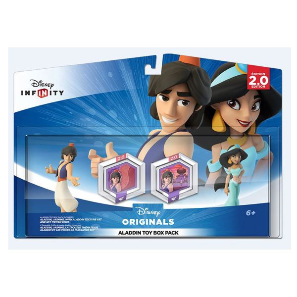 DISNEY INFINITY 2.0 ALADDIN TOY BOX PACK