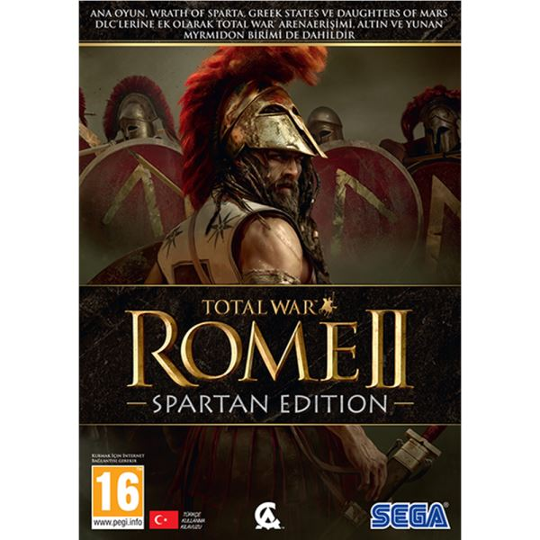 PC TOTAL WAR ROME II SPARTAN EDITION