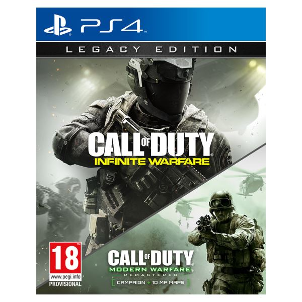 PS4 CALL OF DUTY INFINITE WARFARE LEGACY ED