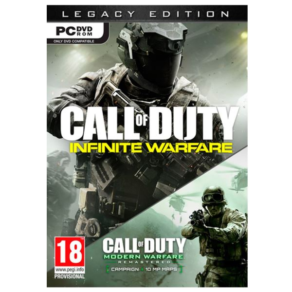 PC CALL OF DUTY INFINITE WARFARE LEGACY ED.