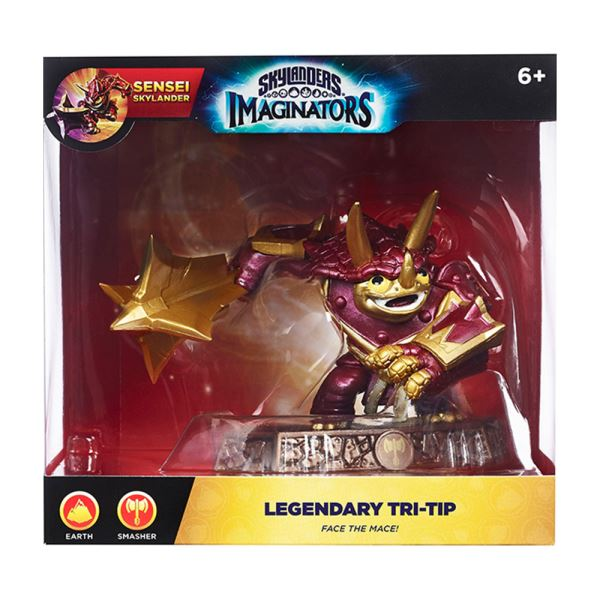 SKYLANDERS IMAGINATORS EXCLUSIVE TRI TIP LEGENDARY