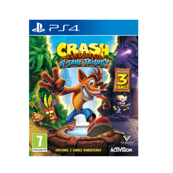 PS4 CRASH BANDICOOT