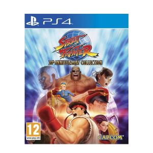 PS4 STREET FIGHTER ANNIVERSARY COLLECTION