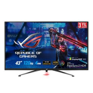 "ASUS 43"" XG438Q 4Ms 120Hz HDR 4K AURA RGB FREESYNC GAMING MONITOR"