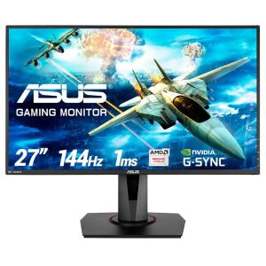 "ASUS 27"" VG278Q 1Ms 144Hz FullHD HDMI+DP  FreeSync G-Sync Gaming Monitör"
