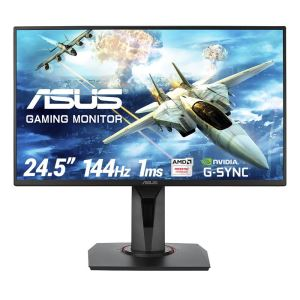 "ASUS 24,5"" VG258Q 1ms 144Hz Full HD HDMI+DP FreeSync ve G-Sync Gaming Monitör"