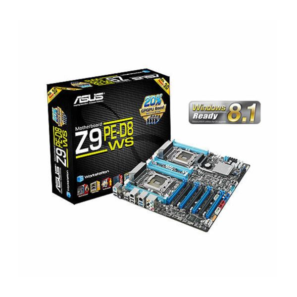 ASUS Z9PE-D8 WS Intel C602 Dual Soket 2011 DDR3 2133MHz(OC.) Workstation Anakart