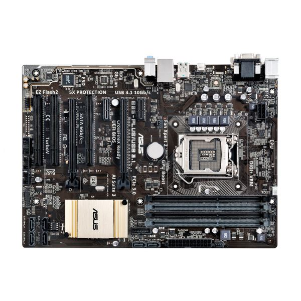 ASUS B85-PLUS/US Intel B85 Soket 1150 DDR3 1600MHz USB 3.1 Anakart