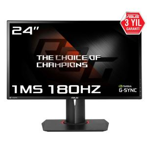 "ASUS 24"" PG248Q 1ms Full HD 180 Hz G-SYNC HDMI GAMING LED MONİTÖR"
