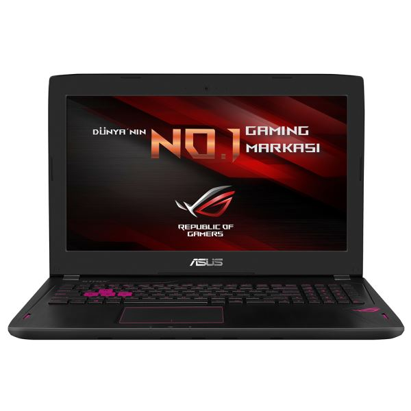 ASUS GL502VS CORE İ7 6700HQ 2.6GHZ-16GB RAM-1TB+256GB SSD-15.6''-GTX1070 8GB-W10